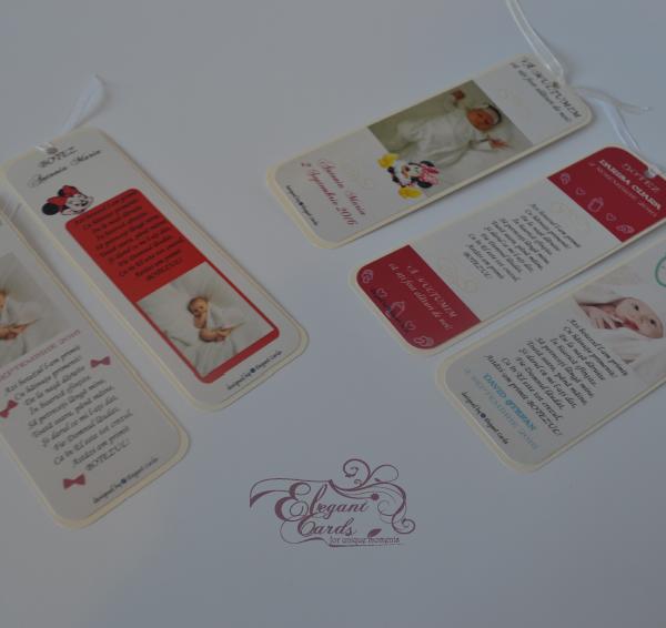 Marturii Botez Modele Semne De Carte Elegant Cards
